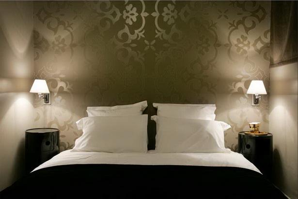 Tapeten schlafzimmer schner wohnen
