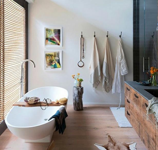 Badezimmer gemtlich einrichten