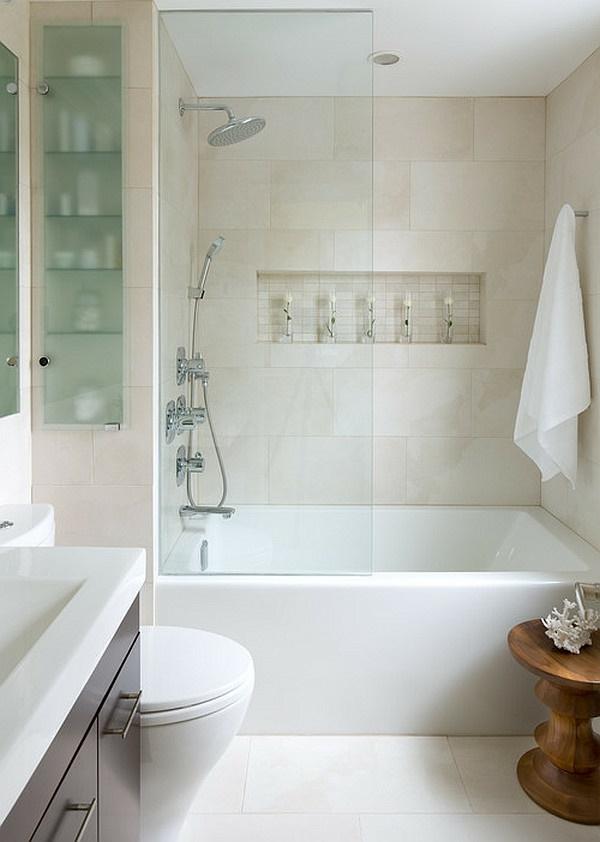 Badezimmergestaltung Kleines Bad | Neue Badideen Für Kleines ...