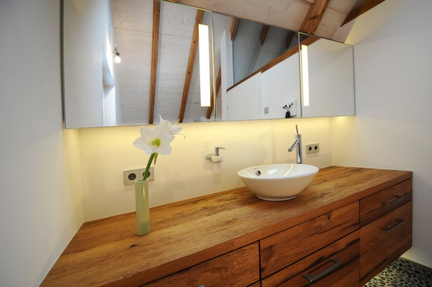 Badezimmermbel holz modern