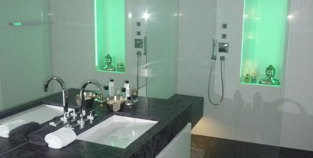 Grnes Badezimmer