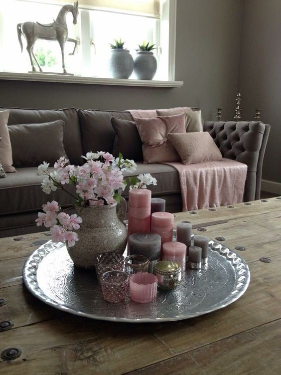 Tischdeko wohnzimmer