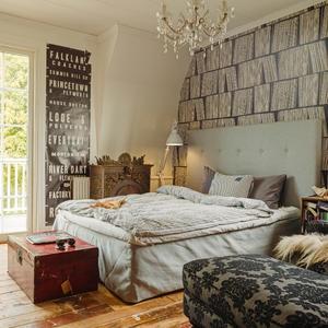 Vintage schlafzimmer deko