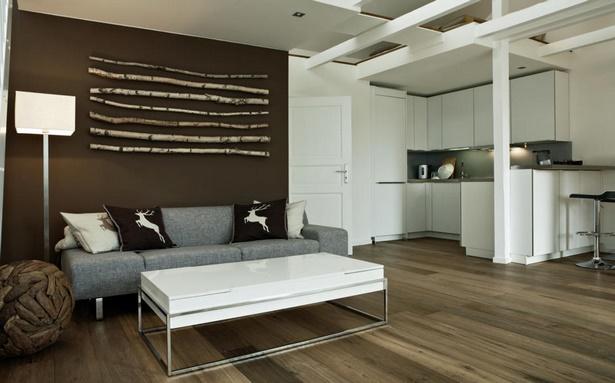 Wanddekoration wohnzimmer ideen
