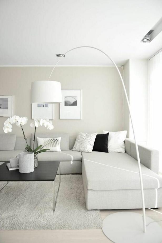 Weies wohnzimmer dekorieren