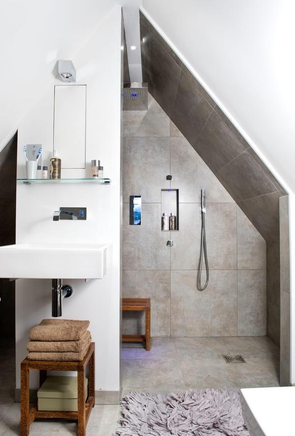 Badezimmer Dachschrge