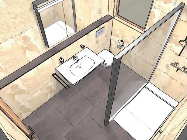 Kleines bad mit dusche