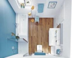 Badezimmer 6 qm