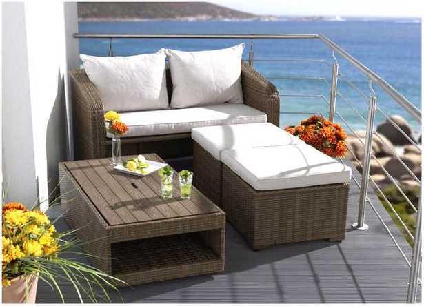 Mobel Fur Balkon 52 Ideen Wohnstil