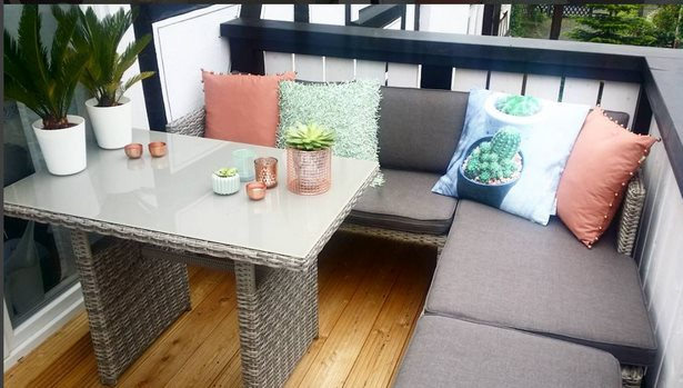 Lounge mbel kleiner balkon
