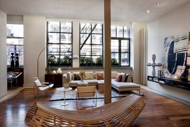 Moderne wohnrume