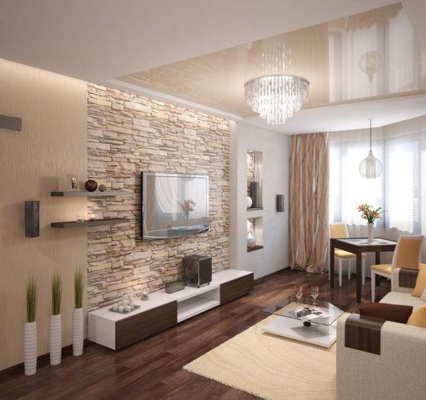 Wohnzimmer ideen weiss braun