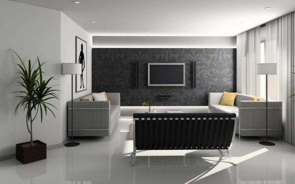 Ideen wohnzimmer wnde gestalten