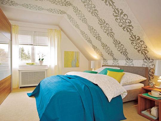 Wandgestaltung Jugendzimmer Dachschräge   Deko Jugendzimmer ...