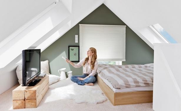 Dachschrge wohnzimmer einrichten