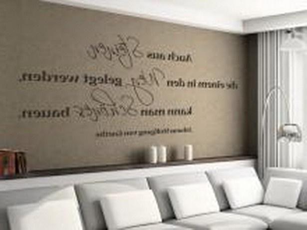 Ideen fr wnde im wohnzimmer