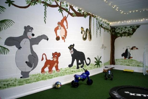Kinderzimmer dschungel deko