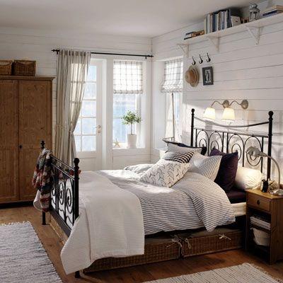 Landhausstil Schlafzimmer Weiss Ideen