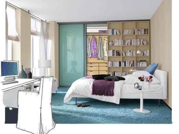 Schlafzimmer mit bro gestalten