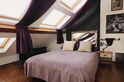 Schlafzimmer schrge gestalten