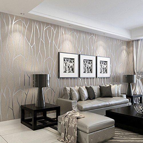 Moderne Wohnzimmer Mit Steintapete   Aruhear 10m Elegant ...