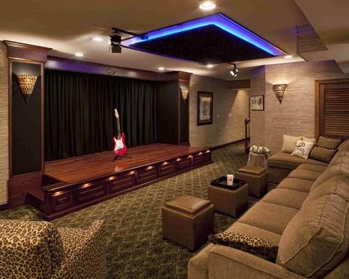 Wohnzimmer heimkino ideen