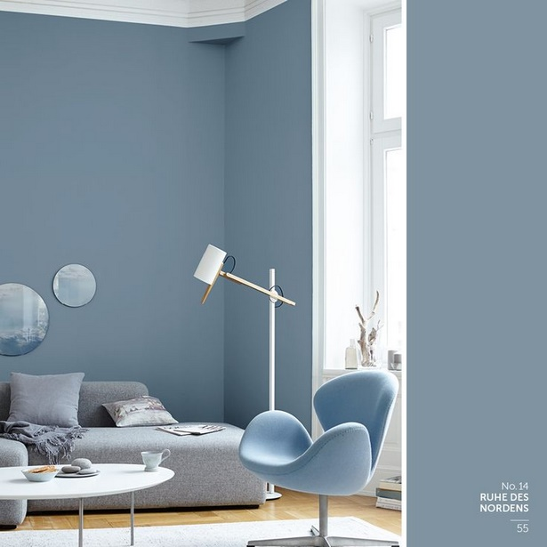 Wohnzimmer wandfarbe ideen