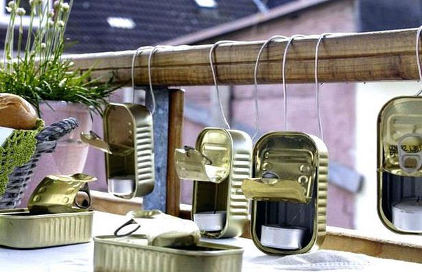 Balkon deko idee