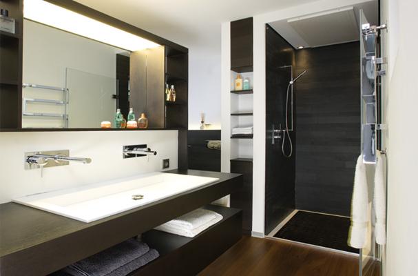 Badezimmer einrichtung modern