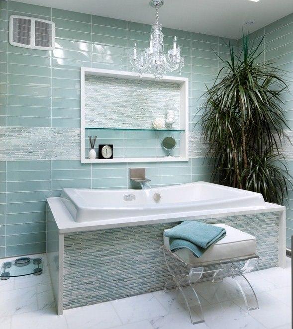 Graues badezimmer verschnern