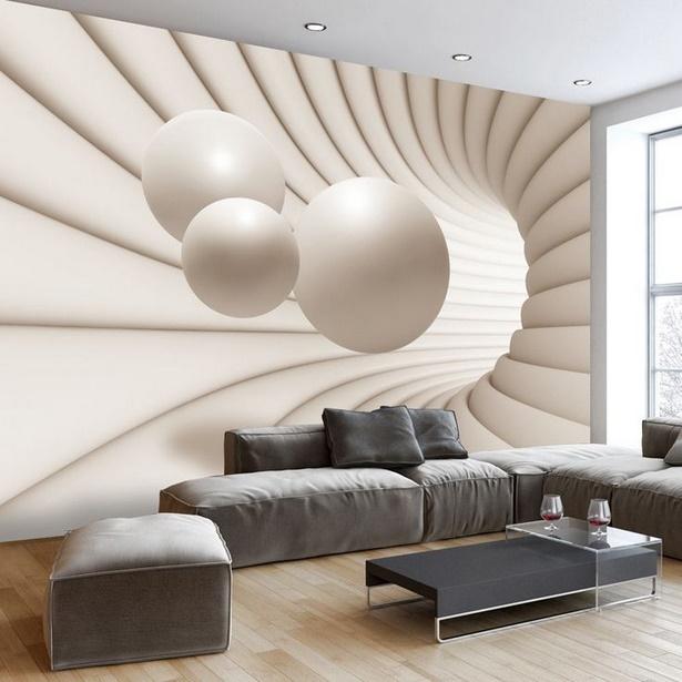 Raumgestaltung wohnzimmer tapeten