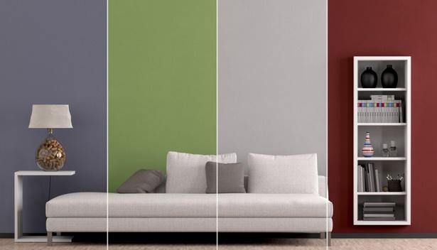 Wnde farbig gestalten ideen