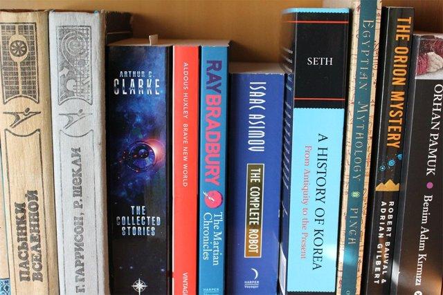 Part of my bookshelf