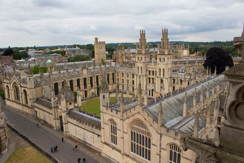 1 day in Oxford Walking Itinerary | All Souls College