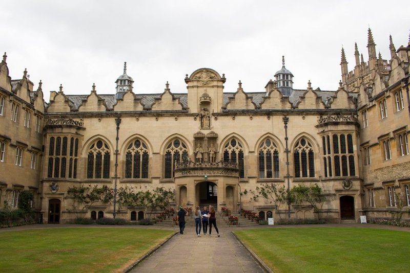 1 day in Oxford Walking Itinerary