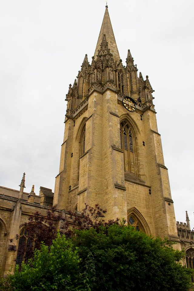 1 day in Oxford Walking Itinerary | St Mary the Virgin Tower
