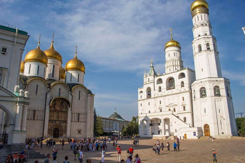 How to spend a perfect day in Moscow | Cathedral Square in the Kremlin