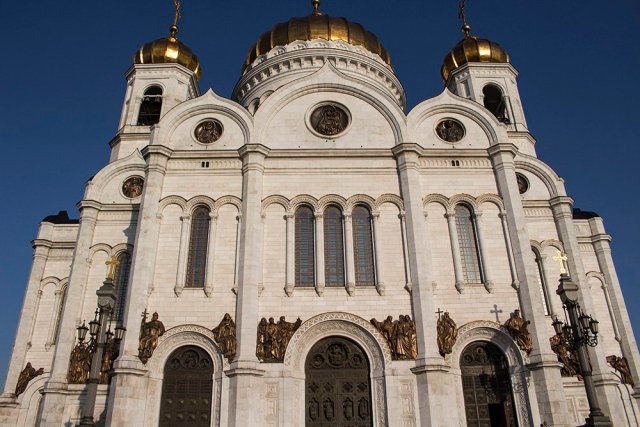 Architectural gems of Moscow, Russia | Cathedral of Christ the Savior