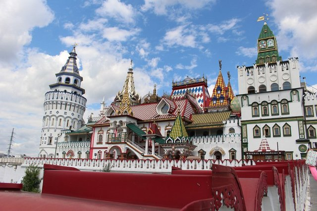 Architectural gems of Moscow, Russia | Izmailovsky Kremlin
