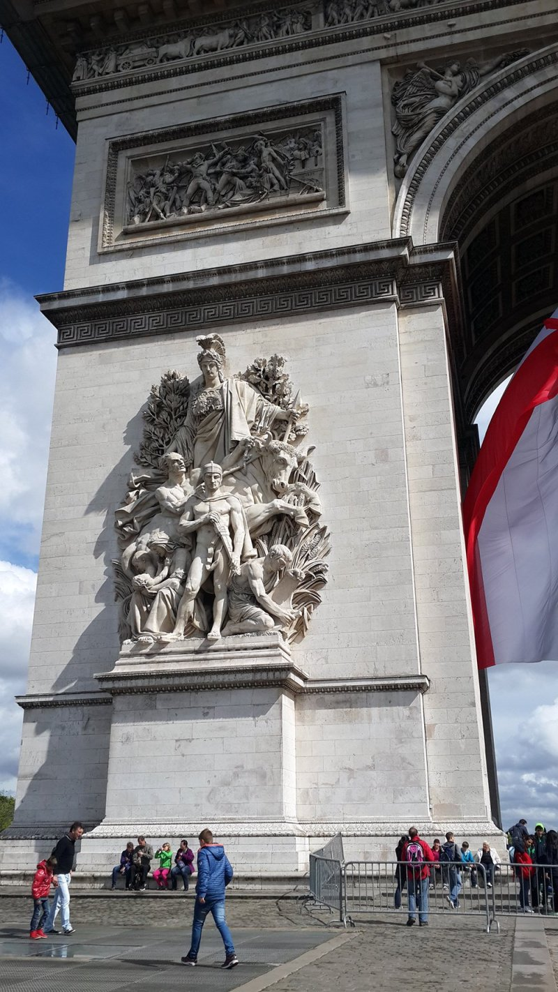 France: what to do in Paris in one day   Arc de Triomphe