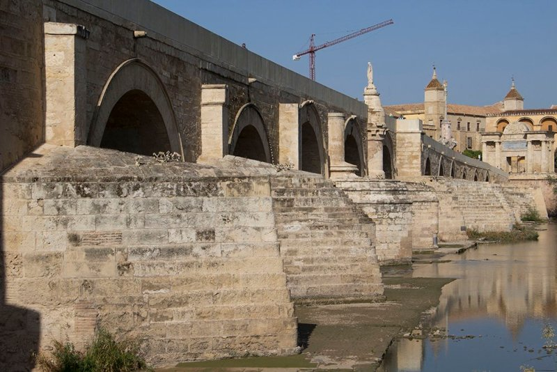 3 Weeks of Solo Travel in Spain, Part 2: a Very Long List of Places to See in Cordoba and the Cost | The Roman Bridge