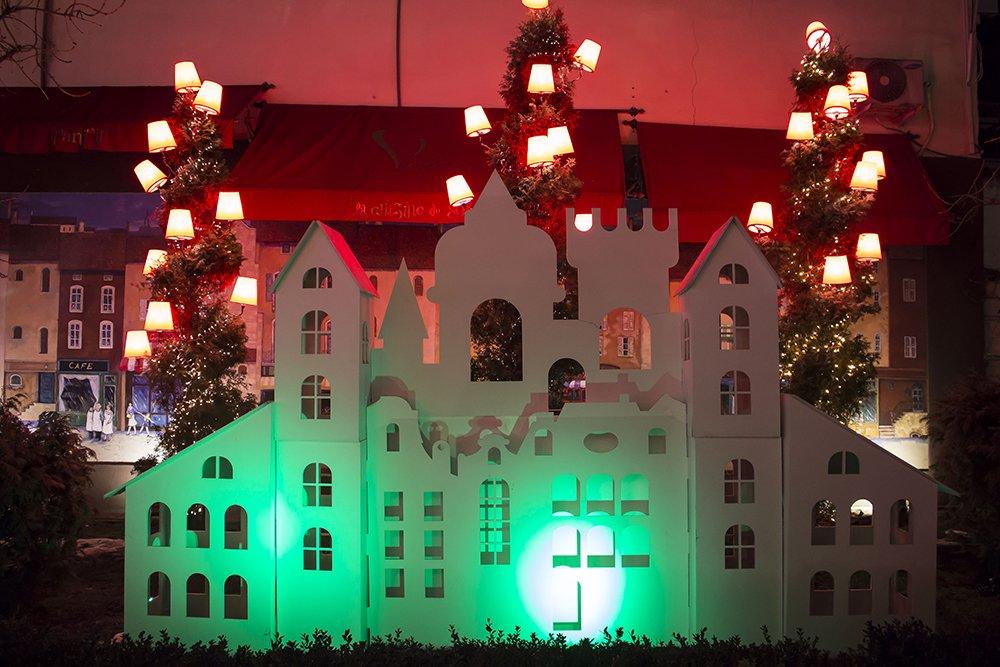 Christmas Fair in Chisinau, Moldova