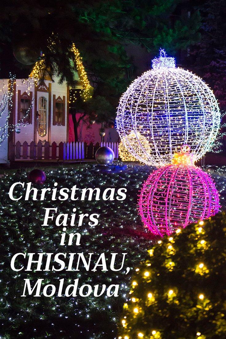 Christmas Fair in Chisinau, Moldova   Christmas around Europe