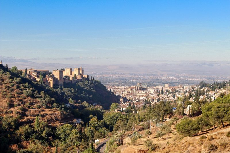 3 Weeks of Solo Travel in Spain, Part 3: things to do in Granada | View from the Sacromonte Abbey
