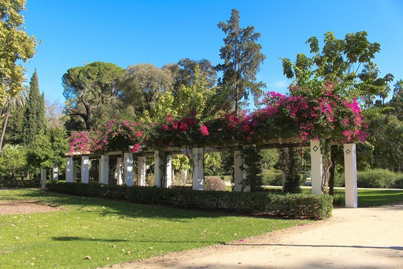 3 Weeks of Solo Travel in Spain, Part 6: a Long List of Places to See in Seville | Maria Luisa Park