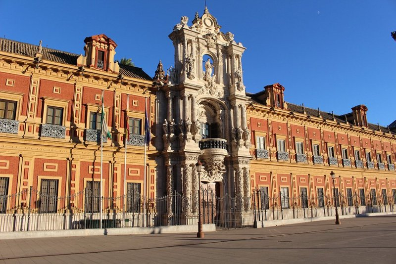3 Weeks of Solo Travel in Spain, Part 6: a Long List of Places to See in Seville | Palacio de San Telmo