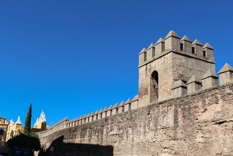3 Weeks of Solo Travel in Spain, Part 6: a Long List of Places to See in Seville | The ancient walls of Seville