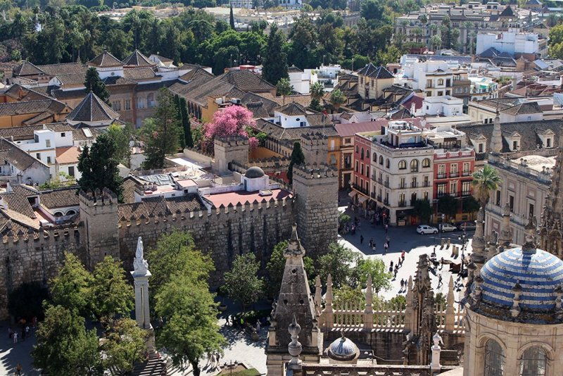 3 Weeks of Solo Travel in Spain, Part 6: a Long List of Places to See in Seville | The view from the Giralda