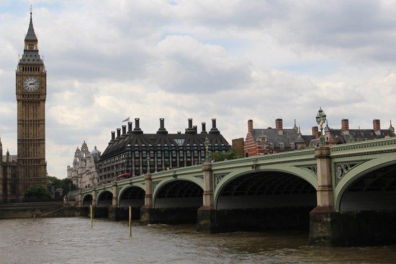 Бесплатные достопримечательности Лондона | Вестминстерский мост и Биг-Бен