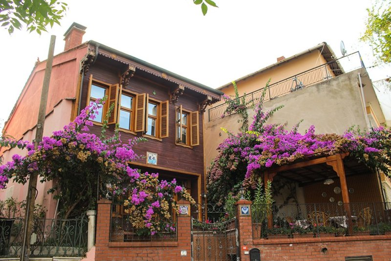 Один день на Бююкада, Принцевы острова, Стамбул | Особняк на острове Бююкада